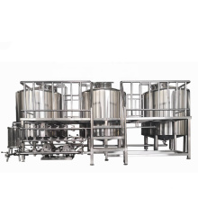 Stainless steel 5000L Commercial beer brewery brewing equipment