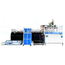 The HDPE large diameter hollowness winding pipe machine
