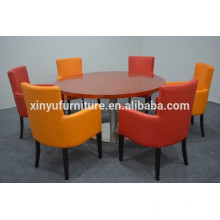 Colorful dining chair and durable dining table for sale XYN1252