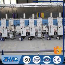 8 cabezas plano + doble máquina de bordar máquina de bordar precio barato