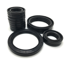 High Pressure TA Type Oilseal Metal Case Double Lips With Spring NBR FKM Oil Seal TA