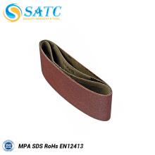 SATC-Hot sale A / O correa abrasiva suave y flexible para metal y acero inoxidable