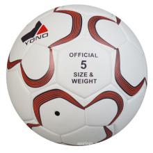 Großhandels PU Leder Benutzerdefinierte Soccaer Ball Größe 5