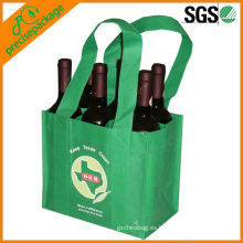 Bolsa de vino de 6 botellas con divisores