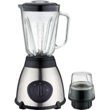 Stainless Steel Blender with Glass Jar