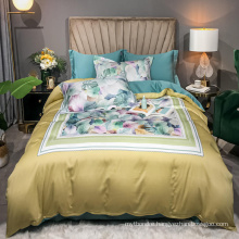 New Product Digital Printing Bedsheet Soft Cotton Fabric for 4PCS Bed Linen