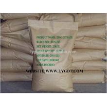 Производитель цинкового цитрата CAS No.546-46-3, высокое качество