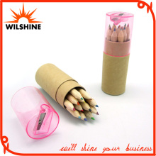 3.5′ Wooden Color Pencil with Sharpener for Stationery Set (MP002)