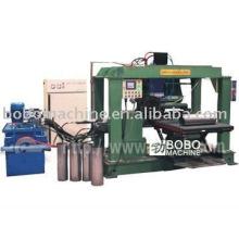 Vehicle muffle seam welder machine