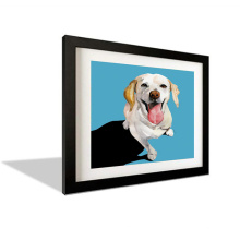 Fashionable Home Decoration Wooden Modern Picture Frame Creative Animal Stereo Photo Frames