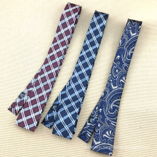 Wholesale Skinny Necktie Silk Jacquard Perfect Knot Mens Ties