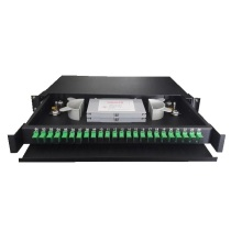 24 Panel Patch Fiber Rack Port ODF
