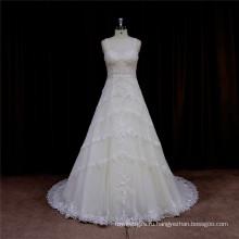 Венеция Кружева Аппликация Свадебное Платье Вечернее