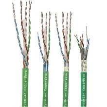 Lansan 4 pares de cabo de rede cat6 305 metros 23awg BC boa qualidade e preço de fábrica