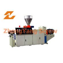 Extrusora de doble husillo de PVC para tuberías / láminas / granulación de gránulos
