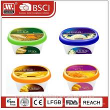 in Form Kennzeichnung Box für Eis als Kunststoff Werbeartikel
