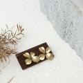 Suporte de exibição de joias de madeira Suporte para anéis de brincos de madeira