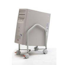 Metal Mobile Computer CPU Holder Office Furniture