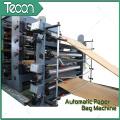Machine automatique de fabrication de sacs en papier chimique