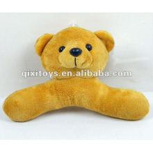 100%lovely stuffed teddy plush toy bear hanger
