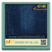 Nuevo diseño por mayor 100 algodón tela de mezclilla de moda