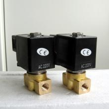 POG ss316 válvula solenóide micro miniatura de alta pressão
