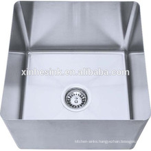 Stainless trough sinks for kitchenware