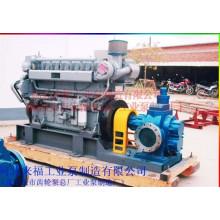 KCB3800 шестеренного насоса, оснащенного дизельным двигателем