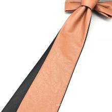 Lazo de cuero delgado de los hombres de moda