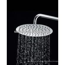 Cabezal de ducha de lluvia de acero inoxidable de lujo de 8 pulgadas, cabezal de ducha
