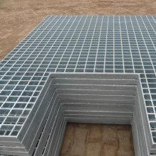 Caillebotis en acier galvanisé de canal de drainage