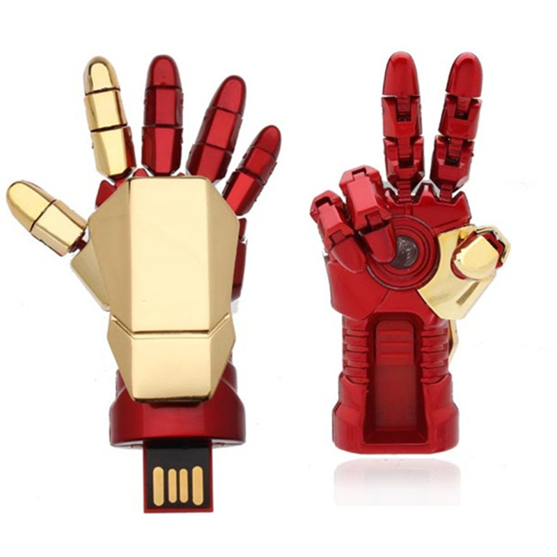 Iron Man Hand Palm-LED Usb Flash Drive