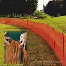 Clôture de sécurité en plastique / avertissement