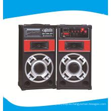 Doble de 8 pulgadas 2.0 al aire libre profesional altavoz incluyendo micrófono 6001