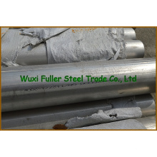 Preço da tubulação de aço inoxidável frente e verso da força de alta elasticidade