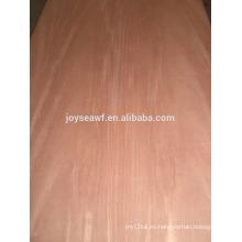 Fabricación de madera contrachapada de caoba profesional