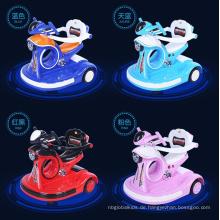 Das neue elektrische Motorrad der vierrädrigen Kinder