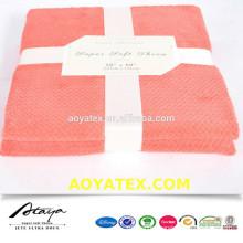 ripple micro plush coral fleece blanket