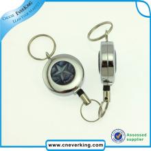 Metal Strong Schlüssel-Abzeichen-Rolle mit Swivel Clip