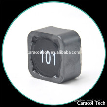 0885-100M smd shield inductor 100uh 3A with different types of inductors