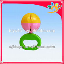 Baby Hand Rasseln kleine Baby Rassel Kunststoff Mini Glocke