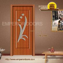 PVC plegable puerta de acordión del PVC para la decoración Interior