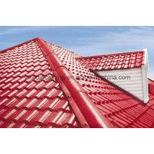 Telha de telhado excelente da casa de campo da resina da resistência do tempo