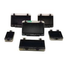 11 tailles IP67 Disjoncteur Fenêtre 1 2 3 4 Observation de surveillance électrique étanche à 5 voies Couvercle de protection transparent