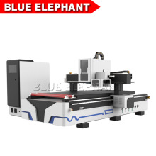 Blueelephant 1325 Wooden Furniture 3D Statues Making Machine CNC Router with Carousel Tool Changer