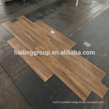 Formaldehyde free wood design vinyl / vynil flooring click