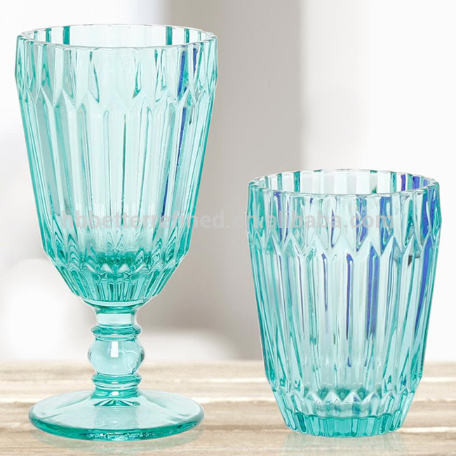 Solid Green Glass Tumbler Wholesale0