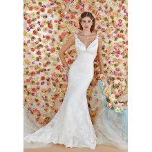 Long Sleeves Floor Length Wedding Dresses