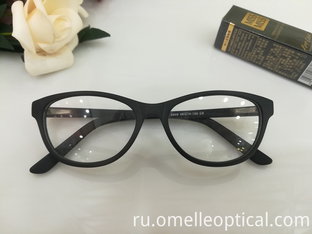 Cat Eye Oval Glasses