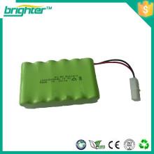 Baixa auto-descarga nimh 14.4v aa 2400mah bateria recarregável